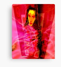 Red Queen of Hearts Canvas Print