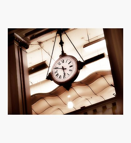 big clock Photographic Print