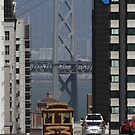 California Street Cable Car on the Move by fototakerTony