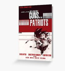 Patriots - Metal Gear Greeting Card