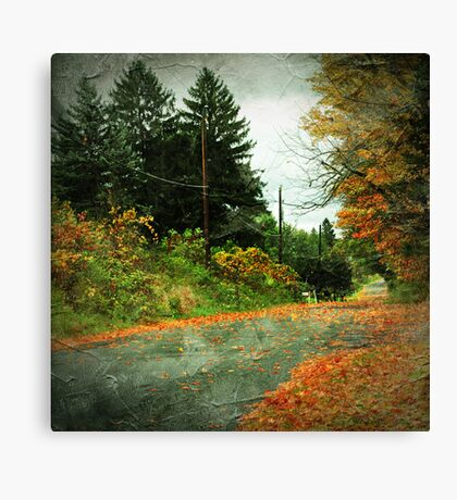 The Fallen (Leaves) Canvas Print