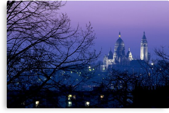 France - Paris - Le Sacré-Cœur by Thierry Beauvir
