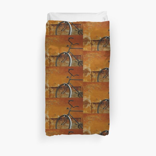 Orange Range Duvet Cover