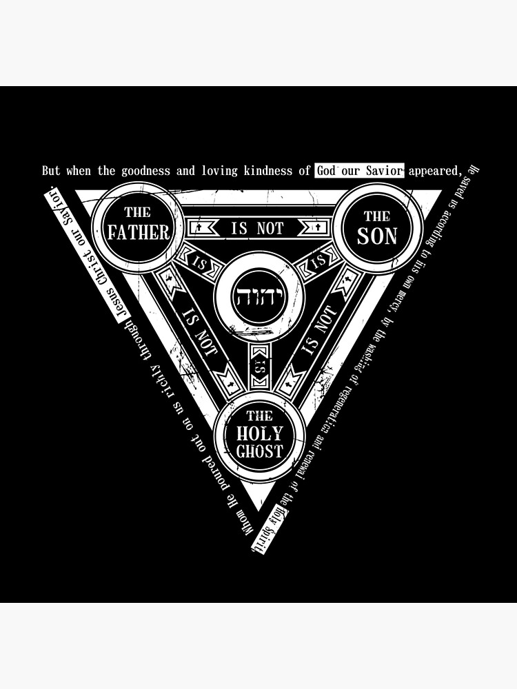 Shield Of The Trinity Tetragrammaton Tote Bag By Platipu Redbubble