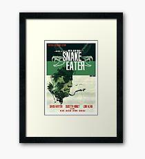 Snake Eater - Metal Gear Framed Print