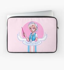 I was sorted into the Transgender House (Masc) Laptop Sleeve