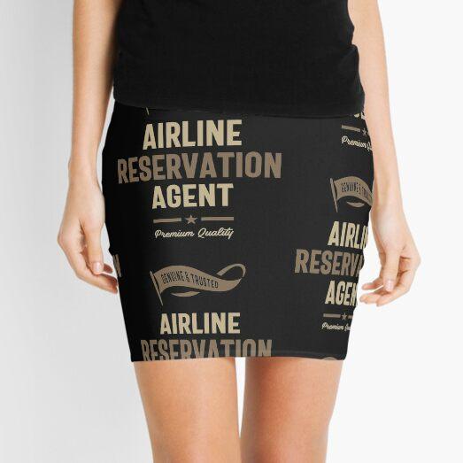 Airline Reservation Agent Mini Skirt