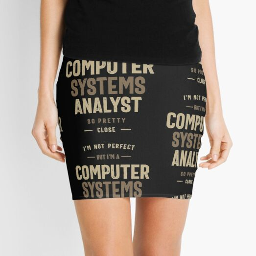 Computer Systems Analyst Mini Skirt