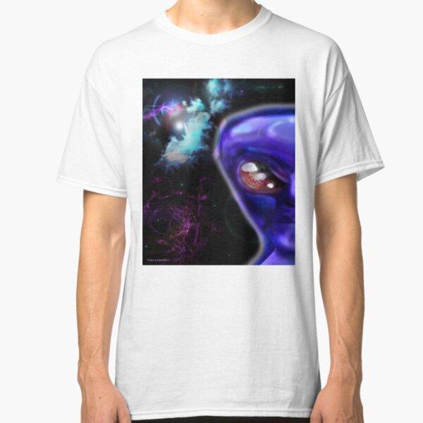 Blue Alien of the Zetas  Classic T-Shirt