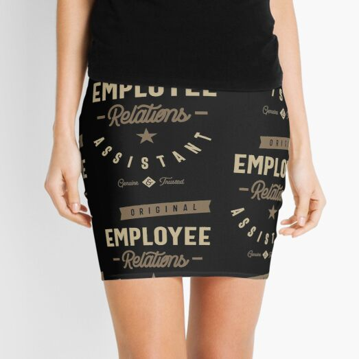 Employee Relations Assistant Mini Skirt