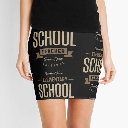 Elementary School Teacher Mini Skirt