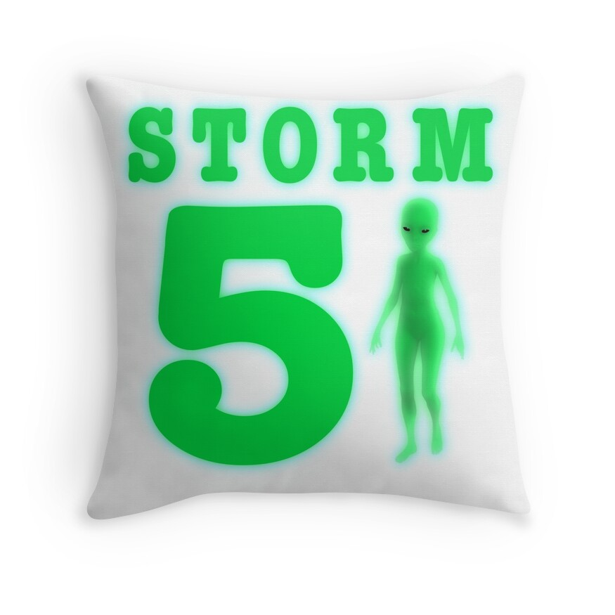 Storm Area 51 Bright Neon Green Alien