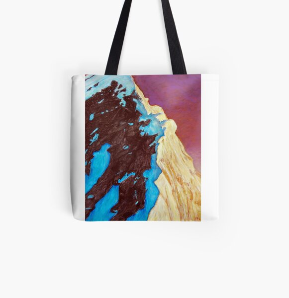 Everest - from the south summit All Over Print Tote Bag