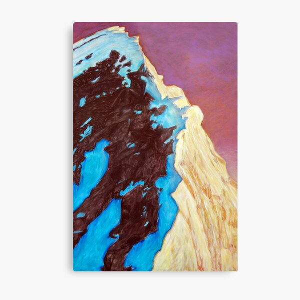 Everest - from the south summit Metal Print