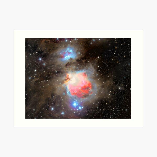 The Great Orion Nebula (M42) Art Print