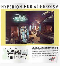 Hyperion Hub of Heroism Poster