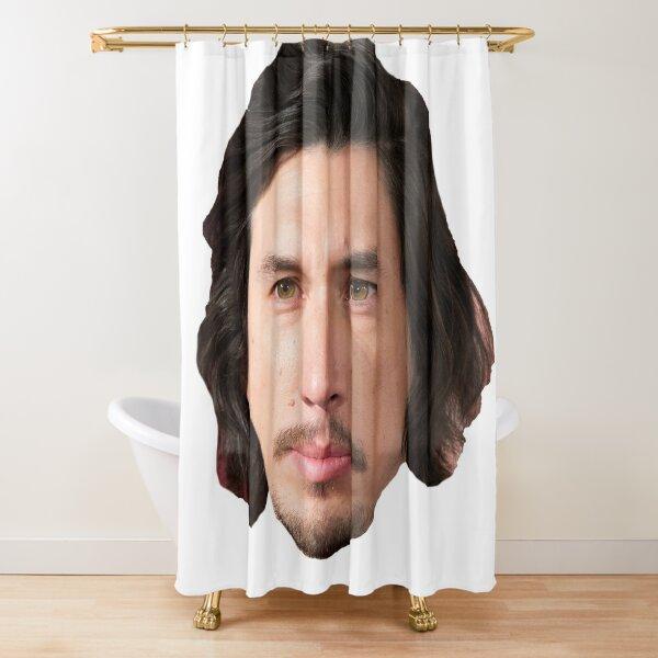 Adam Driver Shower Curtain