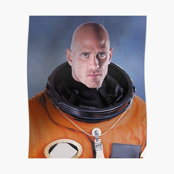 Johnny Sins astronaut Poster