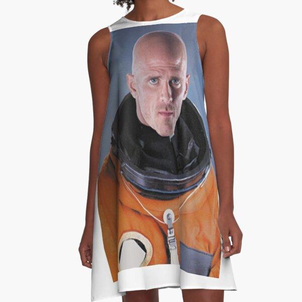 Johnny Sins astronaut A-Line Dress
