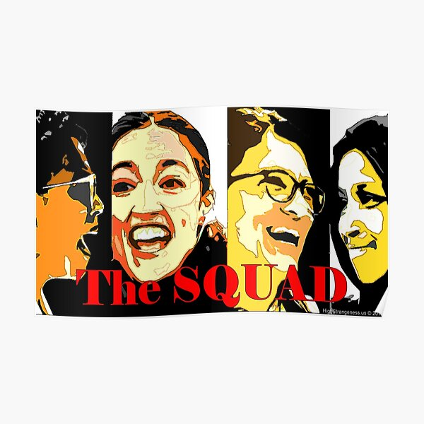 The Squad Poster Poster