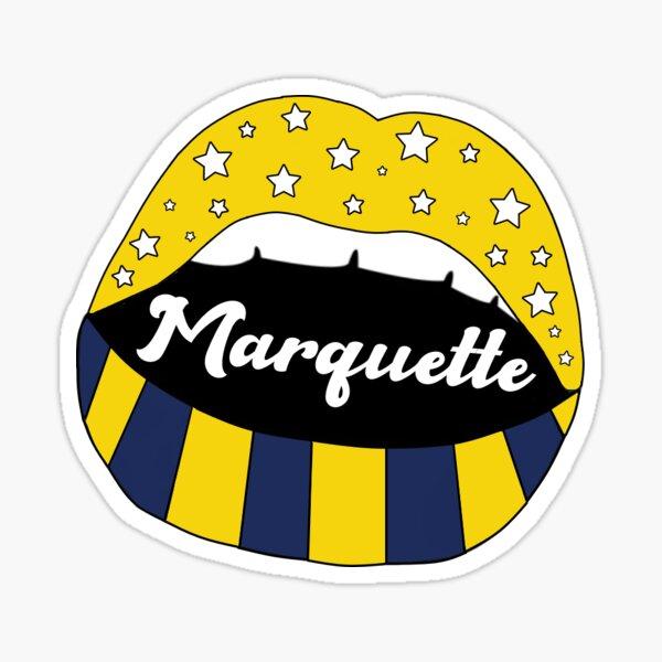 Marquette sticker Sticker