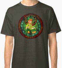 Peter Pan Glasmalerei Classic T-Shirt