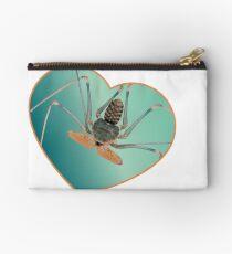 Amblypygi love - Acanthophrynus coronatus Zipper Pouch