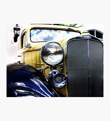 a very old chevy Photographic Print
