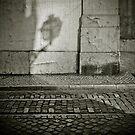 Shadow in Lisbon by laurentlesax