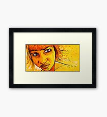 Quip Framed Print