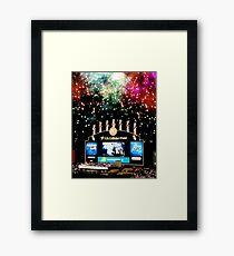 chicago white sox home run fireworks Framed Print