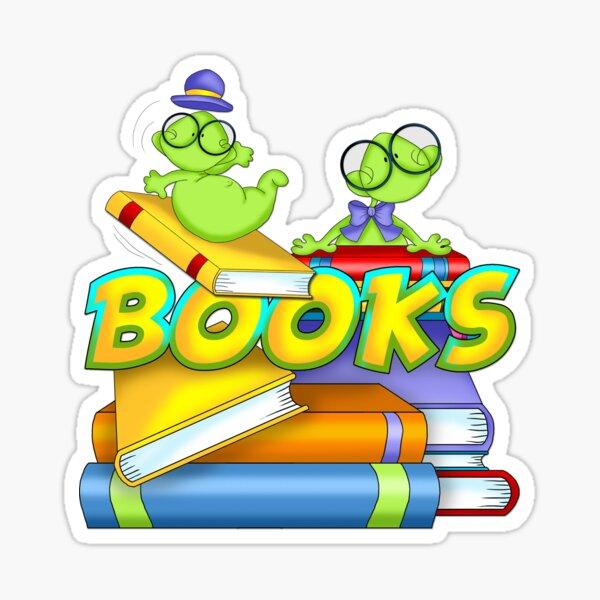 Bookworms Know Stuff Sticker