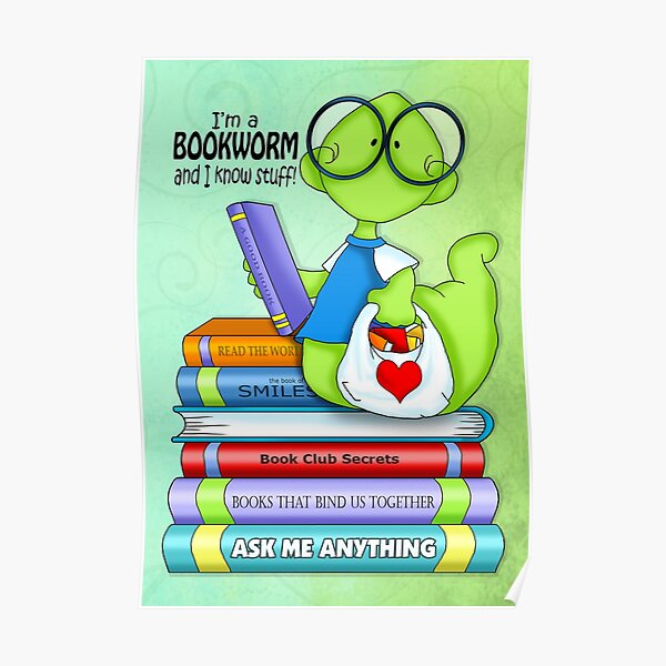 Bookworms Know Stuff Poster