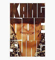 BIGBANG Daesung 'Kang Dae Sung' Typography Photographic Print