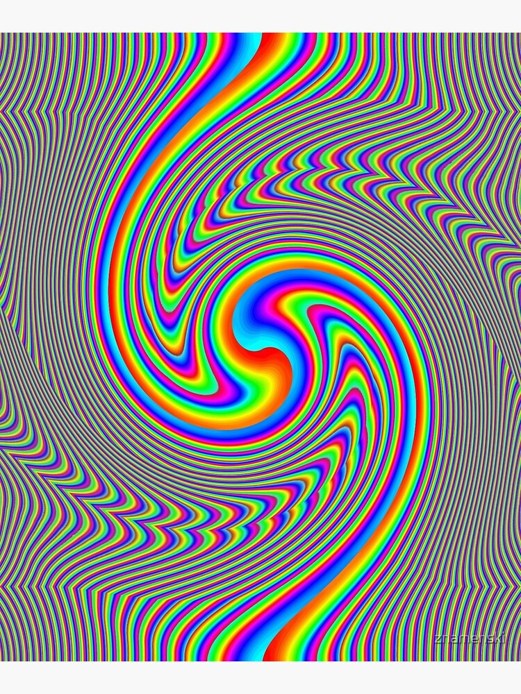 #Vortex, #twist, #illusion, #abstract, design, pattern, illustration, psychedelic, repetition, art, decoration, creativity, twirl, hypnosis by znamenski