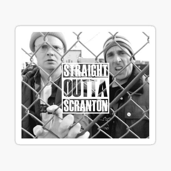 Straight Outta Scranton Sticker