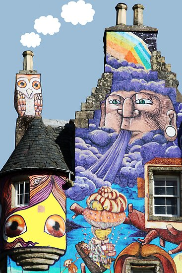 Kelburn Castle Graffiti Project - Fairlie Scotland by simpsonvisuals