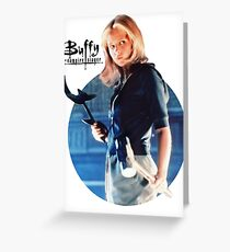 I'm Buffy...the Vampire Slayer Greeting Card