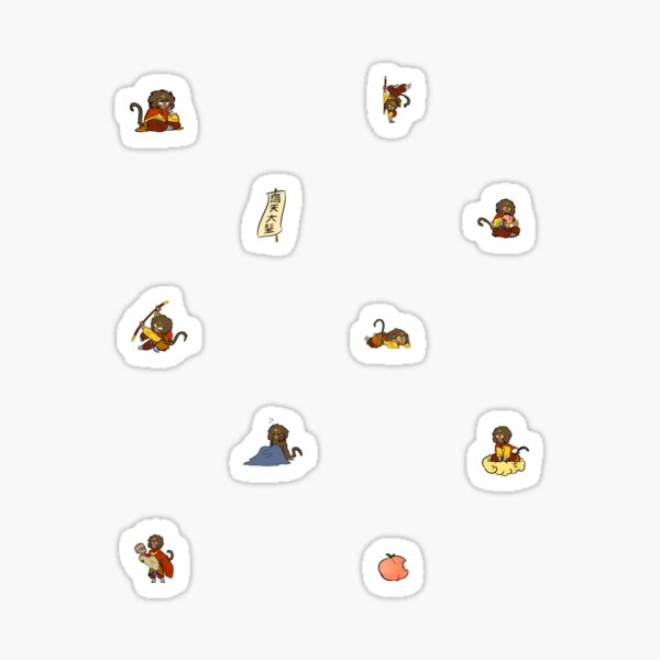 Barrel of Monkeys Sticker