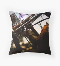 The Balloonist Throw Pillow