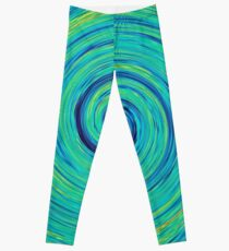 #Vortex, #abstract, #design, #pattern, creativity, nature, twirl, bright, art, spiral, psychedelic Leggings
