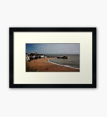 Broadstairs Seafront, Kent UK - Sept 2010 Framed Print