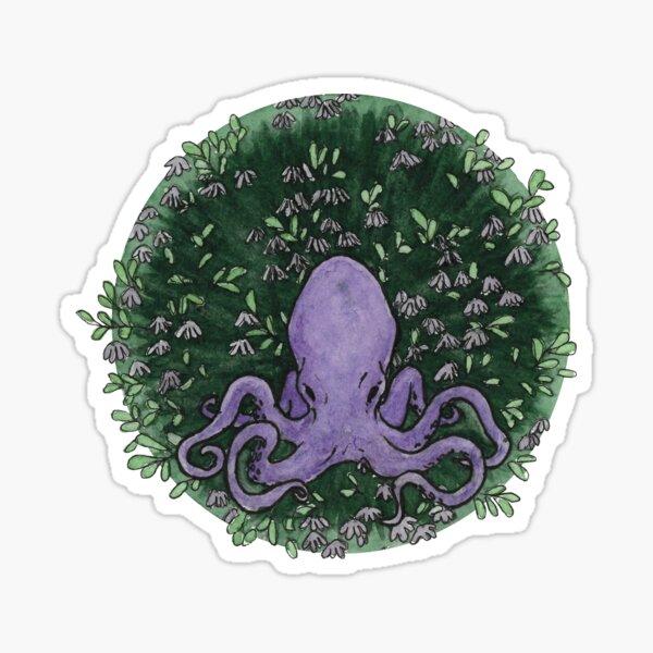 Peaceful octopus Sticker