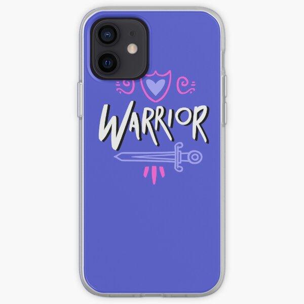 Warrior, not a worrier.  iPhone Soft Case