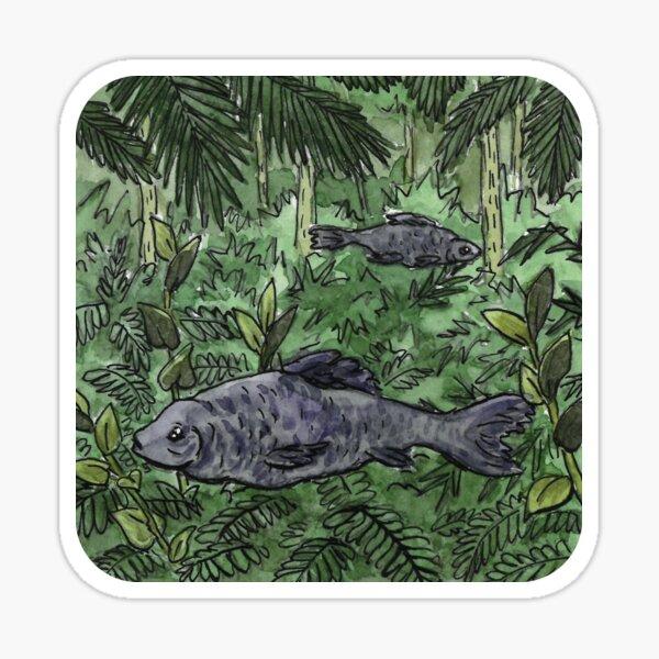 Forest fish Sticker