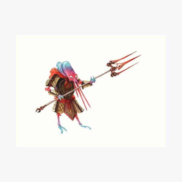 Shrimp Soldier Art Print