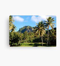 Cook Islands - Rarotonga highlands Canvas Print