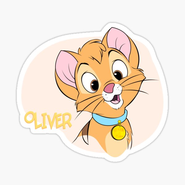 Oliver, Silly Face Sticker