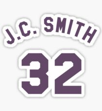 Earl Manigault 32 J.C. Smith College Basketball Sticker