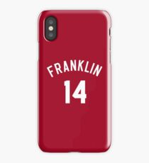"Earl ""The Goat"" Manigault 14 Benjamin Franklin High School Basketball  iPhone Case/Skin"